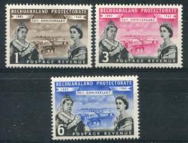 Bechuanaland, michel 141/43, xx