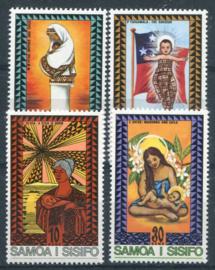 Samoa, michel 324/27, xx