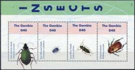 Gambia, michel insecten 2012, xx