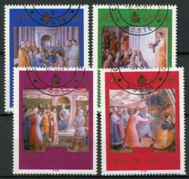 Vaticaan, michel 1454/57, o
