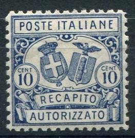 Italie, michel 1 A, x