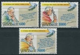 Vatikaan, michel 1101/03, xx