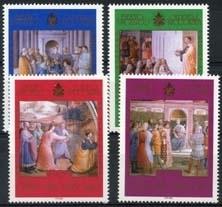 Vaticaan , michel 1454/57 , xx