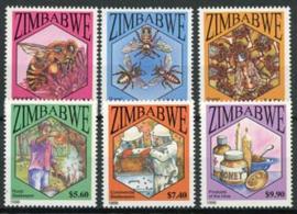 Zimbabwe, michel 615/20, xx
