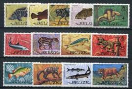 Belize, michel 312/24, xx