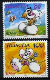 Zwitserland, michel 1882/83,xx