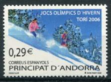 Andorra Sp., michel 329, xx