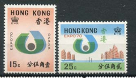 Hong Kong, michel 248/49, xx