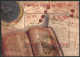 Faroer, michel blok 13, o