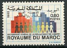 Marokko, michel 1003, xx
