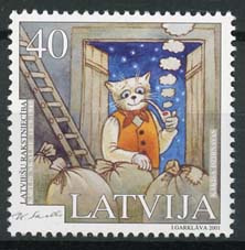 Letland, michel 549, xx