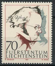 Liechtenstein, michel 1147, xx