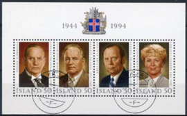 IJsland, michel blok 16, o