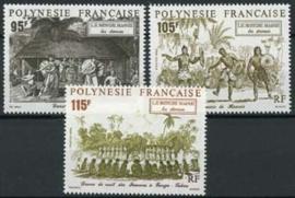 Polynesie, michel 610/12, xx