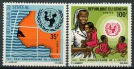 Senegal, michel 472/73, xx