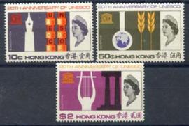 Hong Kong, michel 224/26, xx