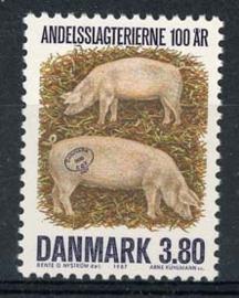 Denemarken, michel 898, xx