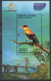 Indonesie, michel blok 121, xx
