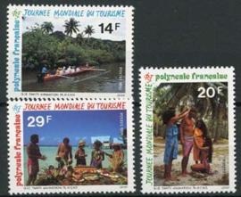 Polynesie, michel 640/42, xx