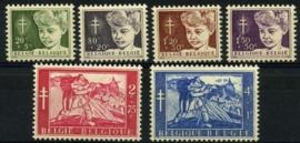 Belgie, obp 955/60,x