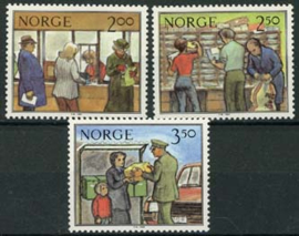 Noorwegen, michel 896/98, xx