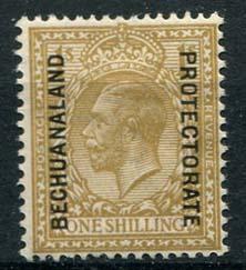 Bechuanaland, michel 68, x