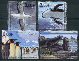 Antarctica Fr., michel 443/46, xx