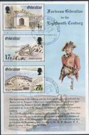 Gibraltar, michel blok 8,o