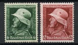 Duitse Rijk, michel 569/70, xx
