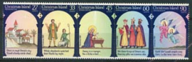Christmas Isl., michel 211/15, xx