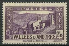 Andorra Fr., michel 72, x