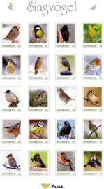 Oostenrijk, vogels,in folder, xx