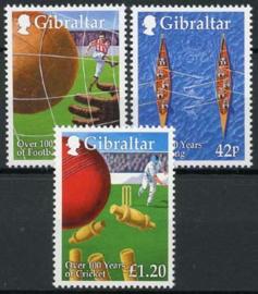 Gibraltar, michel 890/92, xx