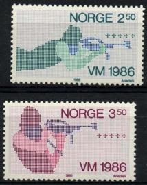 Noorwegen, michel 940/41, xx