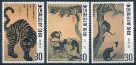 Korea Z., michel 739/41 A, xx