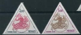 Monaco, michel p m77/78, xx