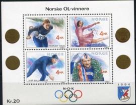 Noorwegen, michel blok 14, xx