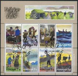 Faroer, michel kb 599/06, o