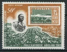 Centrafricain, michel 182, xx