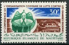 Mauretanie, michel 195, xx