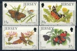 Jersey, michel 549/52, xx