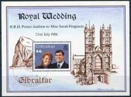 Gibraltar, michel blok 10, o