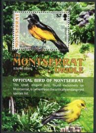Montserrat, michel blok 126, xx