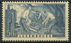 Luxemburg, michel 412, xx