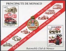 Monaco , michel blok 83 , xx