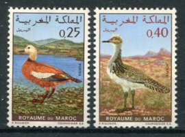 Marokko, michel 672/73, xx