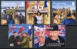 Guernsey, michel 1039/43 , xx