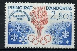 Andorra Fr., michel 348, xx