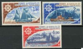 Antarctica Fr., michel 98/100, xx