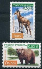 Andorra Fr., michel 641/42, xx